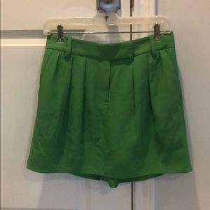 Green DVF Skort Size 2